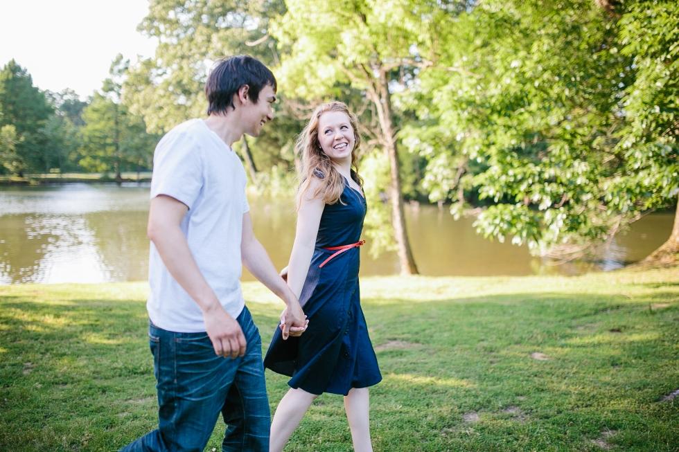 sweet intimate engagement photos