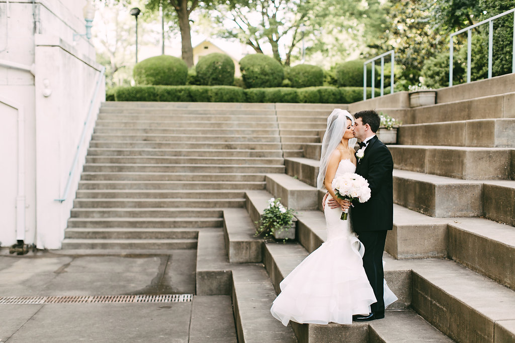 Natalie Kevin Immaculate Conception Wedding Atrium Wedding