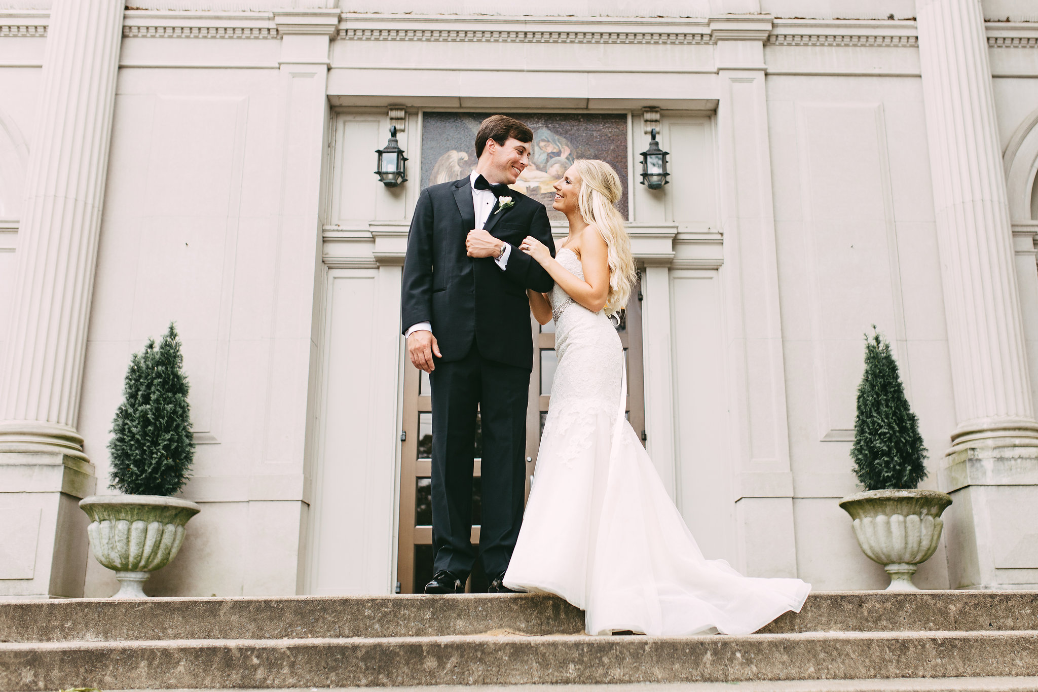 Wedding Photography Memphis: Kendall + William- Immaculate Conception + Cadre Wedding